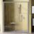 Душевая дверь Ravak Blix BLDP4-150 0YVP0U00Z1 (1500х1900мм) профиль сатин/стекло Transparent