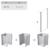 Боковая стенка Ravak Chrome CPS-100 9QVA0C00Z1 (1000 мм)
