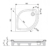 Душевой поддон Ravak Elipso-90 PAN A227701410 (900×900 мм)