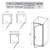 Душевая дверь Ravak Pivot PDOP1-80 03G40U00Z1 (800х1900 мм) профиль сатин/стекло Transparent