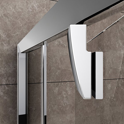 Душевая дверь Ravak Pivot PDOP2-100 03GA0C00Z1 (1000х1900 мм) профиль блестящий/стекло Transparent