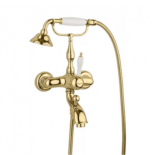 Смеситель для ванны Margaroli Classica 1004 RU1004AA01GD золото