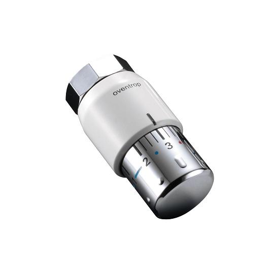 Термостат Oventrop «Uni SH» 1012065 белый/хром