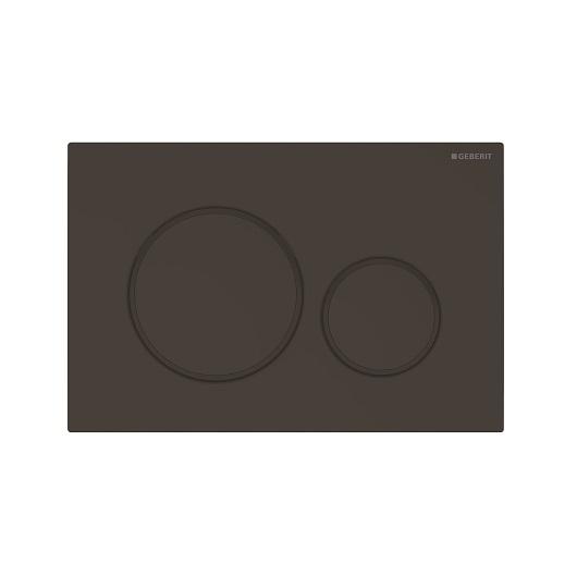 Смывная клавиша Geberit Sigma20 115.882.16.1 (матовый черный, с легкоочищаемой поверхностью)