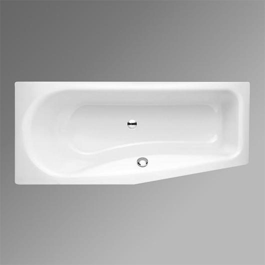 Ванна Bette Luna 2760-000 PLUS (левая,1700х750 мм) шумоизоляция, антигрязевое покрытие