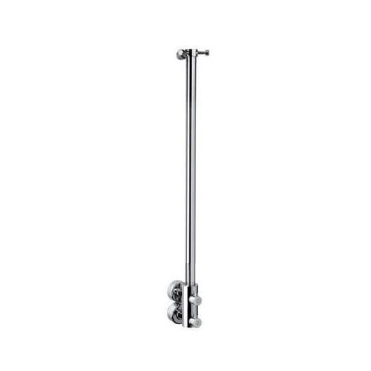Полотенцесушитель водяной Margaroli Arcobaleno 416/S (900 мм) хром, с крючками