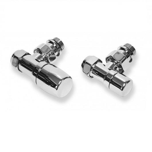 Комплект вентилей для подключения полотенцесушителя Cordivari Kristal 5991990311166 хром