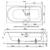 Ванна Bette Ocean 8765-000 PLUS AR (перелив сзади,1700х800 мм) шумоизоляция, антигрязевое, антискользящее покрытие