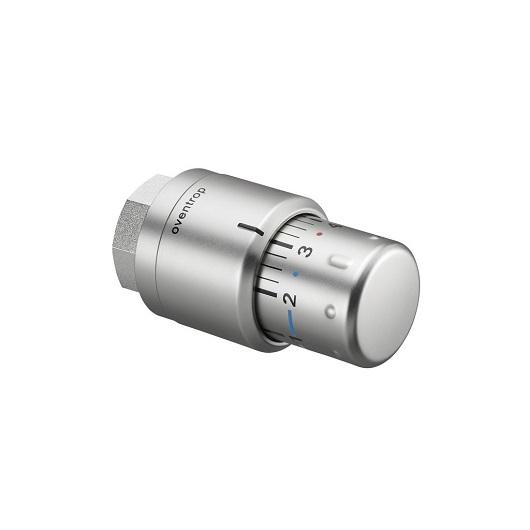 Термостат Oventrop «Uni SH» 1012085 матовая сталь
