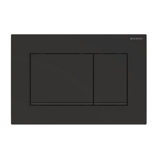Смывная клавиша Geberit Sigma30 115.883.16.1 (матовый черный, с легкоочищаемой поверхностью)