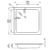 Душевой поддон Bette Quinta 5900-000 (900х900 мм)