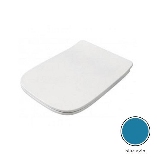 Сиденье с крышкой для унитаза ArtCeram A16 ASA001 38 71 SoftClose (Blue Avio Matt)