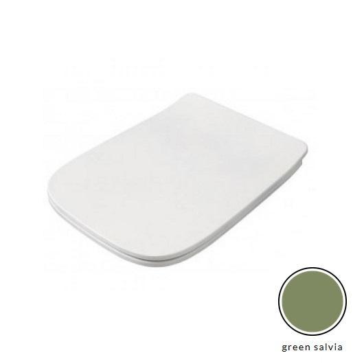 Сиденье с крышкой для унитаза ArtCeram A16 ASA001 44 71 SoftClose (Grenn Salvia Matt)
