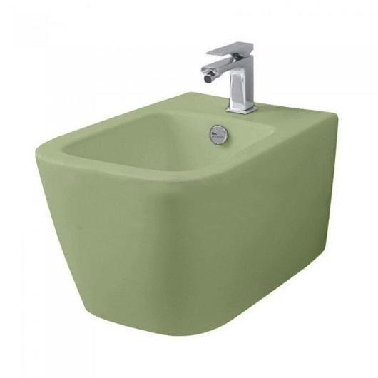Биде подвесное ArtCeram A16 ASB001 44 00 (Green Salvia Matt)