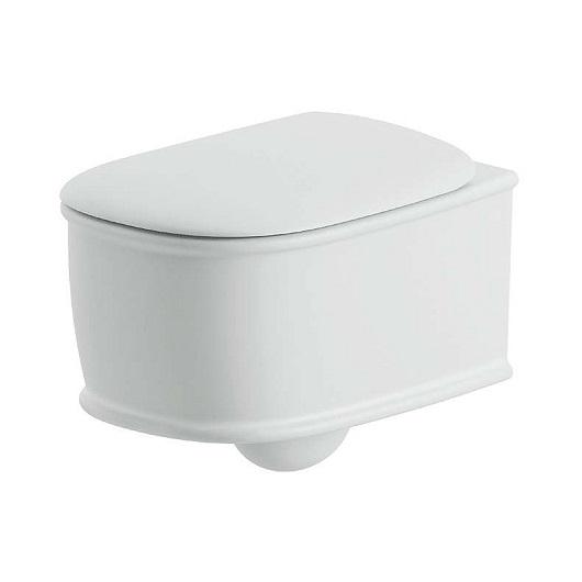 Чаша подвесного унитаза ArtCeram Atelier Rimless ATV001 01 00 безободковая (белая)