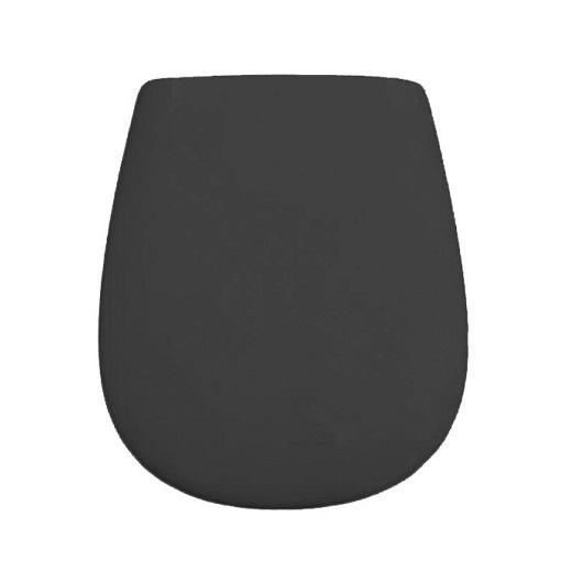 Сиденье с крышкой для унитаза ArtCeram Atelier/Azuley AZA001 17 71 SoftClose (черное матовое)