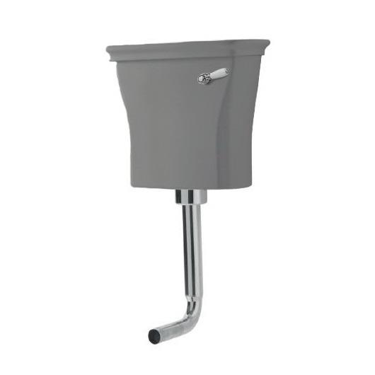 Бачок для унитаза ArtCeram Civitas CIC007 34 00 (серый) под механизм со средней трубой