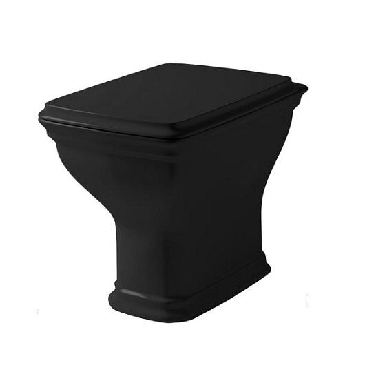 Чаша приставного унитаза ArtCeram Civitas CIV003 03 00 (черная)