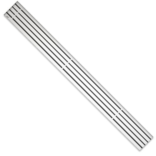 Декоративная решетка AlcaPlast STREAM-950M (950 мм, матовый)