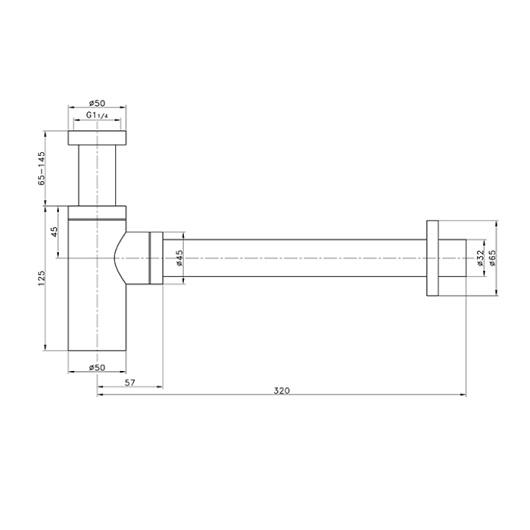 Сифон для раковины Villeroy & Boch Universal TVC00000400061
