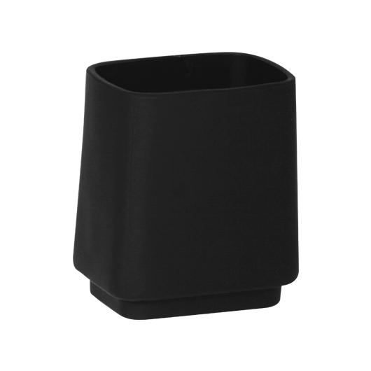 Стакан Novaservis Metalia 4 6406/1.5 (черное стекло)