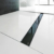 Декоративная решетка AlcaPlast GL1204-1150 (1150 мм) черное стекло