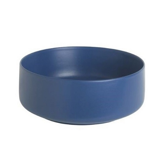 Раковина накладная ArtCeram Cognac 35 COL004 16 00 (Ø 350 мм) Blue Sapphire Matt
