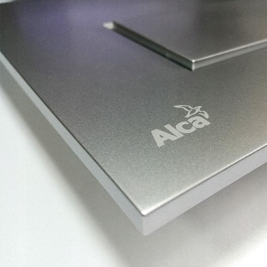 Кнопка управления AlcaPlast Thin M572 (хром матовый)