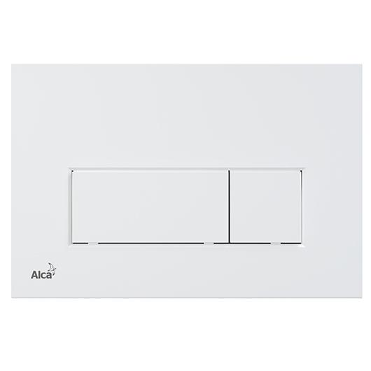 Кнопка управления AlcaPlast Thin M576 (белый матовый)