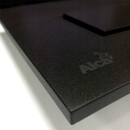 Кнопка управления AlcaPlast Thin M578 (черный матовый)