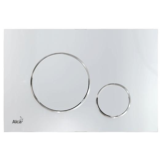 Кнопка управления AlcaPlast Thin M671 (хром глянцевый)