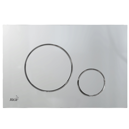 Кнопка управления AlcaPlast Thin M672 (хром матовый)