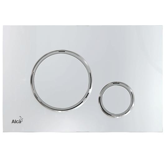 Кнопка управления AlcaPlast Thin M771 (хром глянцевый/ хром матовый)