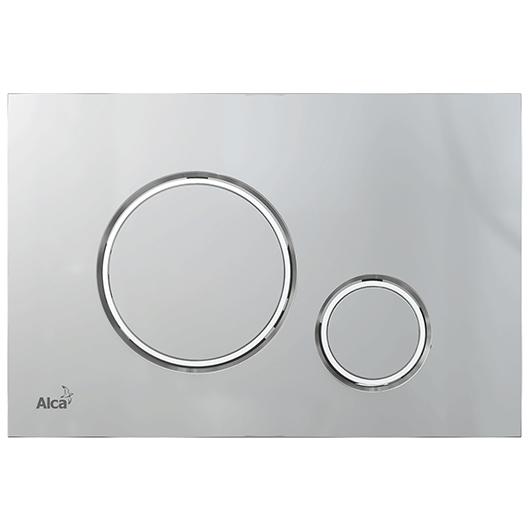Кнопка управления AlcaPlast Thin M772 (хром матовый/хром глянцевый)