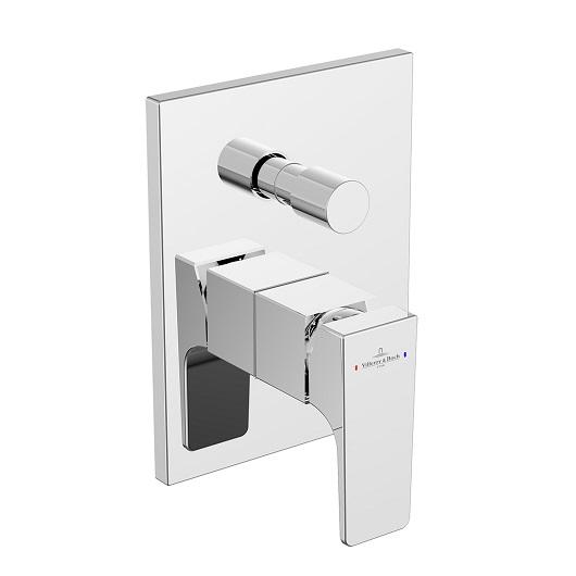 Смеситель для ванны Villeroy & Boch Architectura Square TVS12500300061