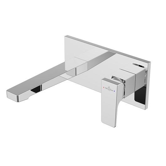 Смеситель для раковины Villeroy & Boch Architectura Square TVW12500300061 настенный