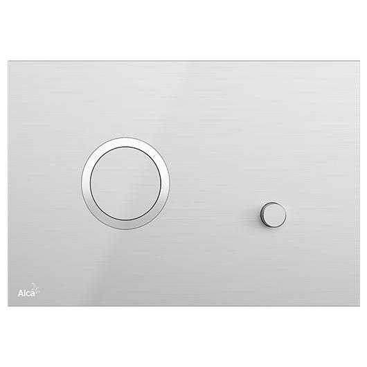 Кнопка управления AlcaPlast Flat STING-INOX (нержавеющая сталь)