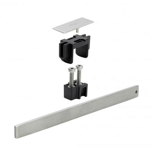 Комплект для монтажа укороченной дизайн-вставки Viega Advantix Vario SR1 711832 (200 мм) матовый