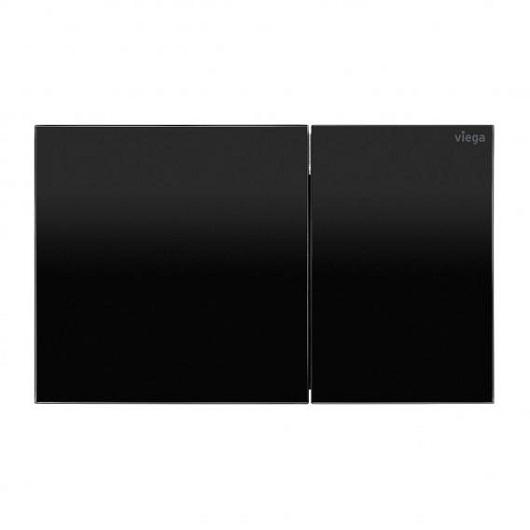 Панель смыва Viega Prevista Visign for More 200 773588 (черное стекло)