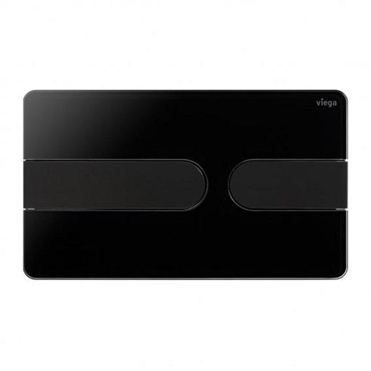 Панель смыва Viega Prevista Visign for Style 23 773199 (корпус черный глянцевый/клавиши черный матовый)
