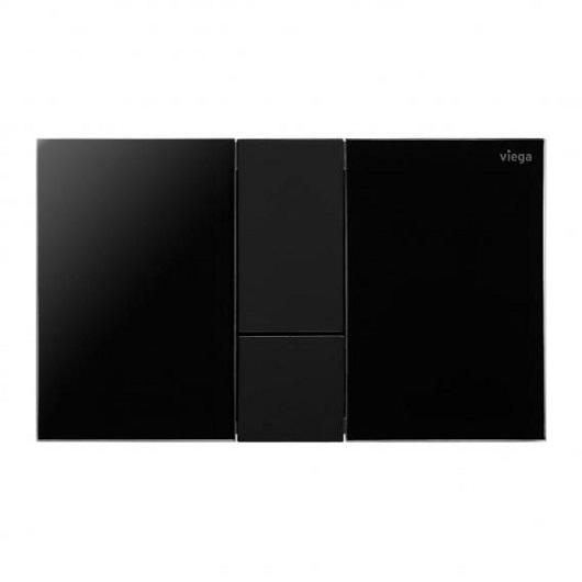 Панель смыва Viega Prevista Visign for Style 24 773311 (корпус черный глянцевый/клавиши черный матовый)