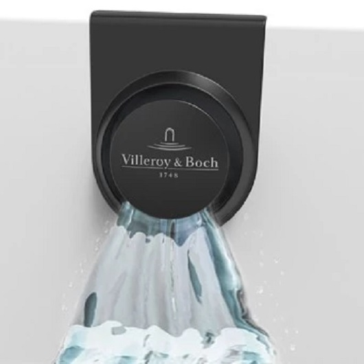 Набор для слива-перелива с наполнением Villeroy & Boch Oberon 2.0 UPCON0136-33 (Black Matt)