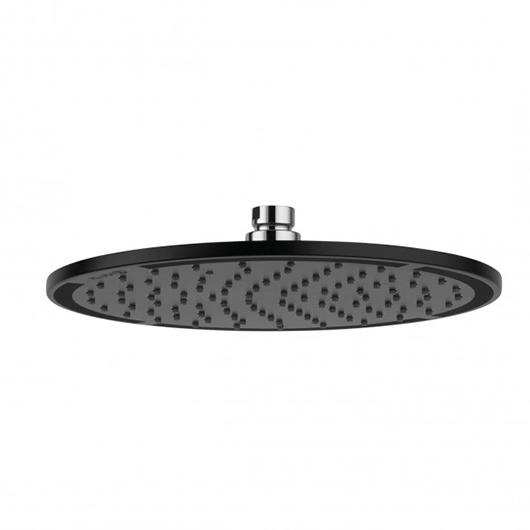 Верхний душ Kludi A-QA 6432587-00 (черный матовый, 250 мм)