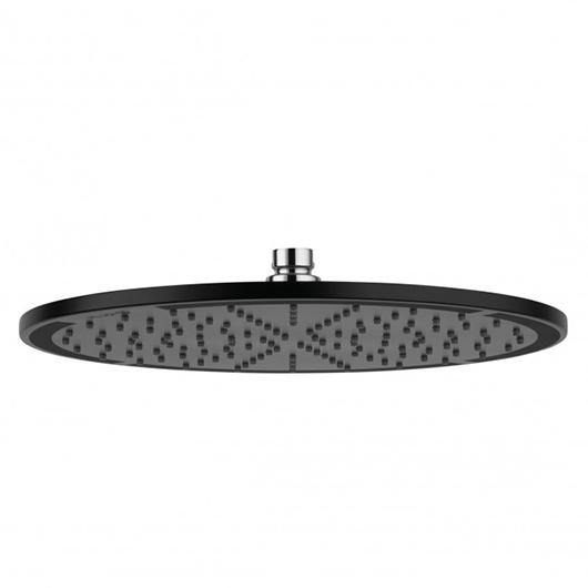 Верхний душ Kludi A-QA 6433087-00 (черный матовый, 300 мм)