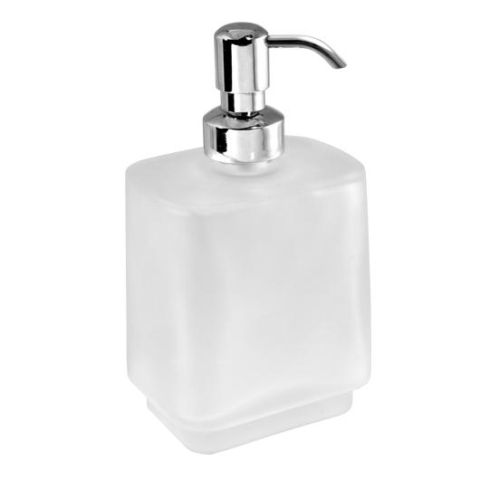 Дозатор жидкого мыла Novaservis Metalia 4 6450/1.0 (матовое стекло)