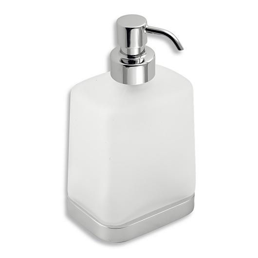 Дозатор жидкого мыла Novaservis Metalia 4 6450.0 (матовое стекло/хром)