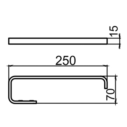 Держатель бумажных полотенец Novaservis Metalia 4 6451.0