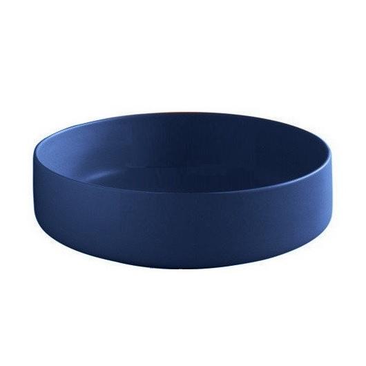 Раковина накладная ArtCeram Cognac 48 COL002 16 00 (Ø 480 мм) Blue Sapphire Matt