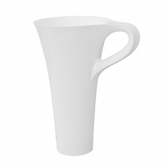 Раковина напольная ArtCeram Cup OSL004 01 00 (690х500х850) белая