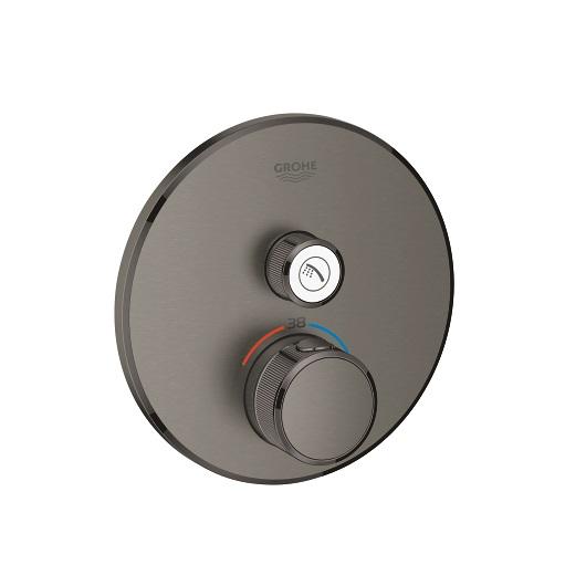 Термостат Grohe Grohtherm SmartControl 29118AL0 (темный графит, матовый)